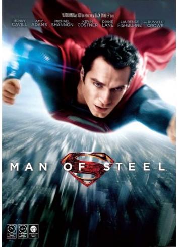 Superman: Çelik Adam (Dvd)