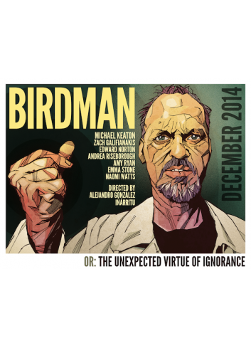 Birdman or (The Unexpected Virtue of Ignorance) (Dvd)