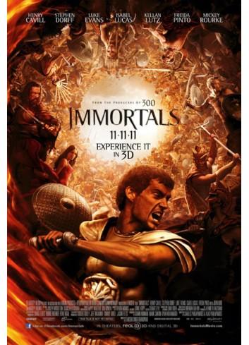 Ölümsüzler: Tanrıların Savaşı (Dvd)