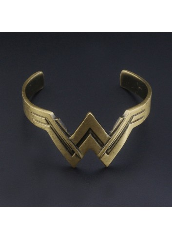 Wonder Woman Super Hero Bangle Bracelet Women's Jewelry