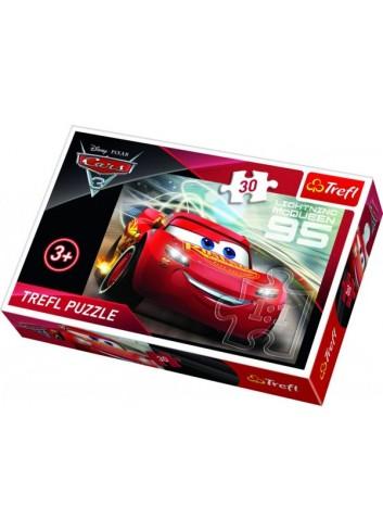 Trefl Puzzle: Cars - Lightning McQueen