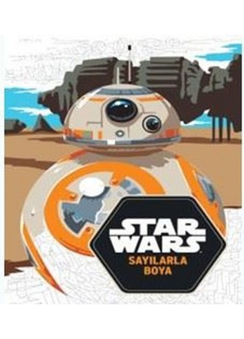 Star wars Sayılarla Boyama (Turkish Color Book)