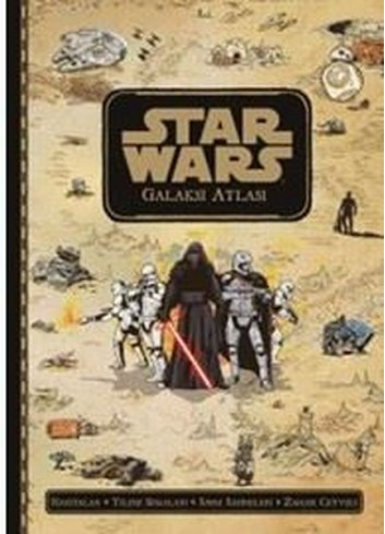 Star Wars-Galaksi Atlası (Turkish Book)