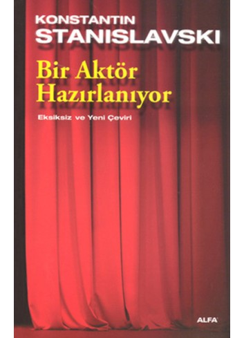 Bir Aktör Hazırlanıyor (Turkish Book)