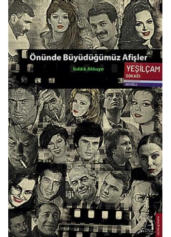 Önünde Büyüdüğümüz Afişler (Turkish Book)