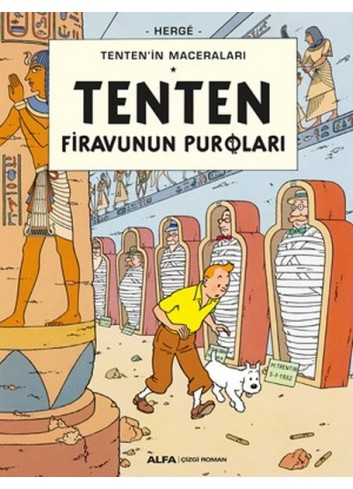 Tenten Firavunun Puroları (Turkish Comic Book)