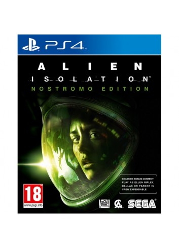 Ps4 Alien Isolation Nostromo Edt