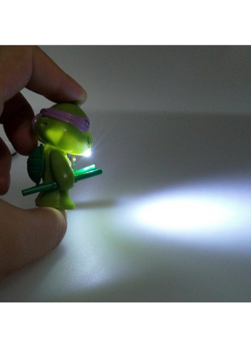 Teenage Mutant Ninja Turtles Figure Lighting Keychain