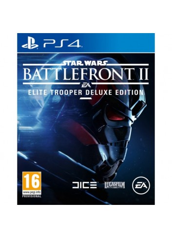 Ps4 Star Wars Battlefront II Deluxe Ed.