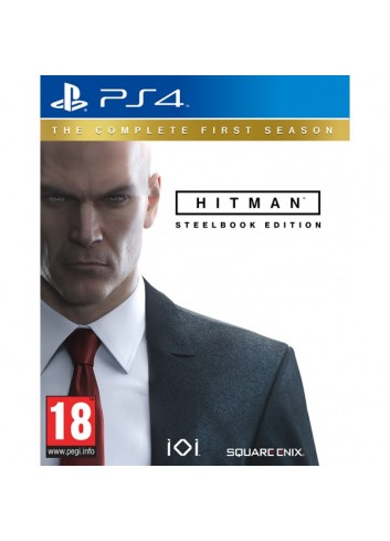 Ps4 Hitman Complete Season Steelbook Edt.
