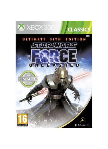 Xbox 360 Star Wars Force Unleashed The Ultimate Sith