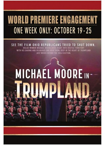 Michael Moore in TrumpLand Toilet Paper