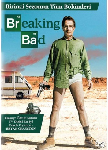 Breaking Bad Sezon 1 (Dvd)