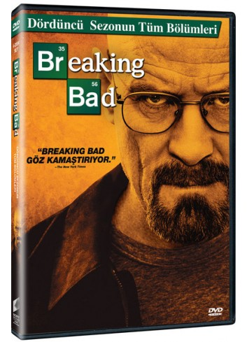 Breaking Bad Sezon 4 (Dvd)