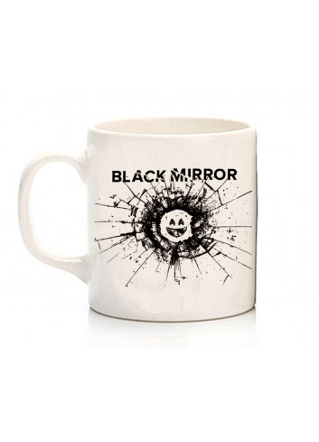 Black Mirror Logo Kupa