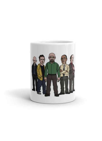 Breaking Bad Figures Mug