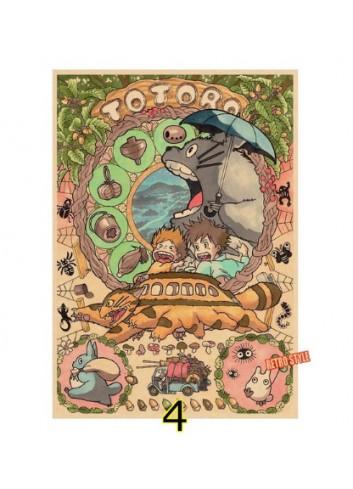 Totoro Vintage Poster (35x50)