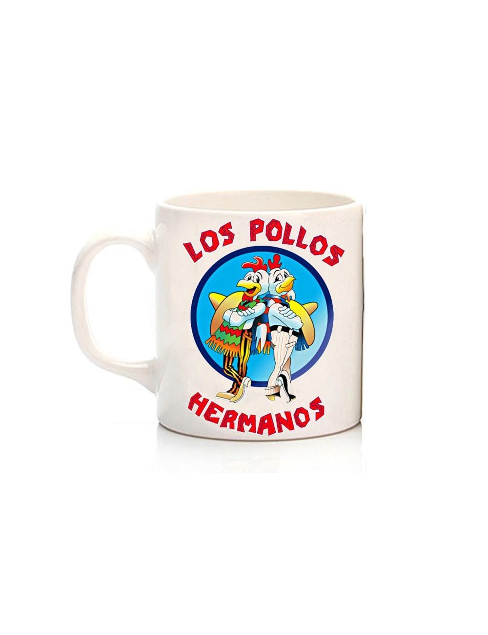 Breaking Hermanos Mug Los Bad Pollos QBrCWxedoE