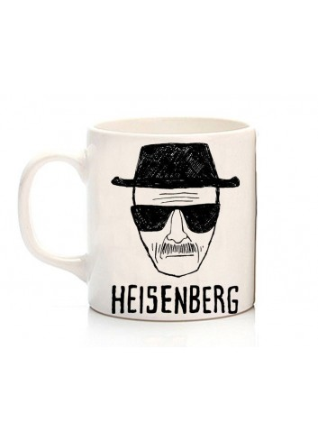 Breaking Bad - Heisenberg Hand Drawing Mug