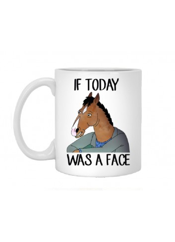 Bojack Horseman - If Today Was A Face Mug