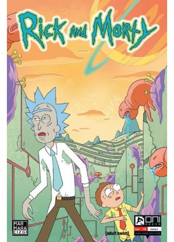 Rick and Morty 2 Comics (Turkish)