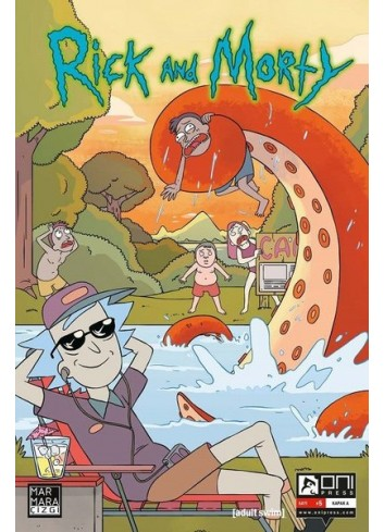 Rick and Morty 5 Comics (Turkish)