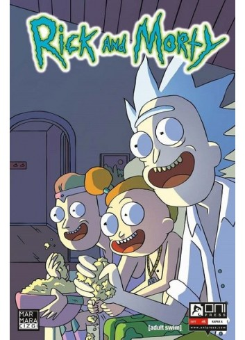 Rick and Morty 6 Comics (Turkish)