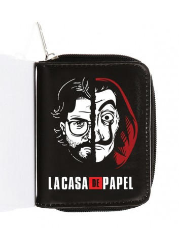 La Casa De Papel - Profesor And Mask Wallet
