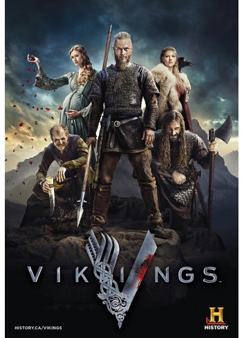 Vikings Series 01 Poster (35X50)