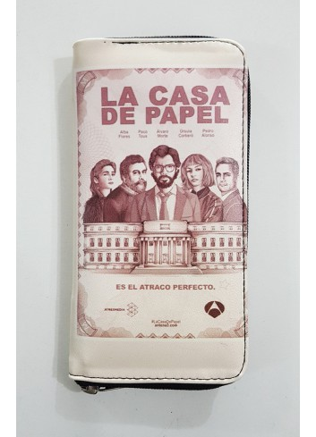 La Casa De Papel - Retro Poster Long Wallet