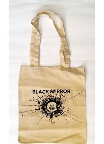 Black Mirror Logo - Bez Çanta