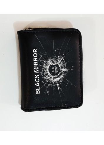 Black Mirror Logo Cüzdan