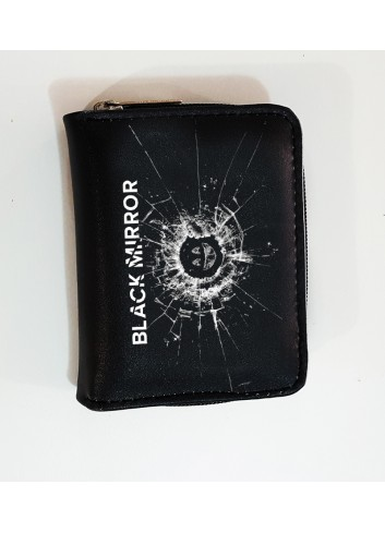 Black Mirror Logo Wallet