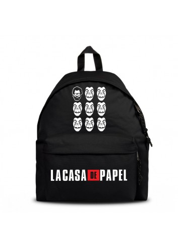 La Casa De Papel - Profesor and Masks Backpack