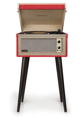 Crosley Bermuda Pickup Red