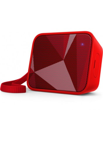 PHILIPS BT110R Wireless Speaker Red