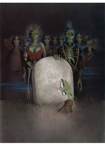 The Return of the Living Dead 01 Poster 35X50