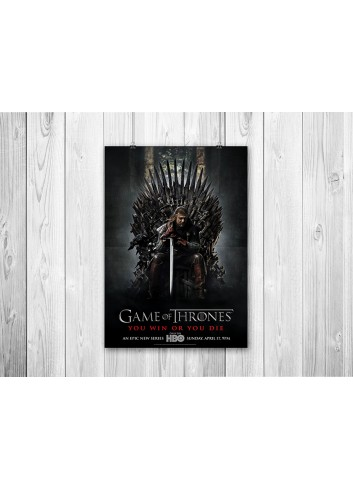 Game Of Thrones Series 01 Poster 35X50