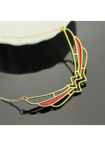 Wonder Woman Necklace Wing