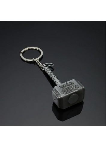 Thor Hammer Metal Keychain