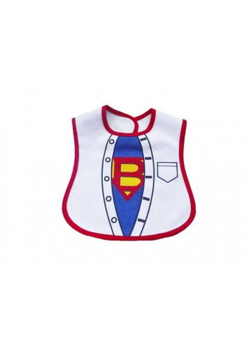 Superman Baby Bib (0 - 3 Age)