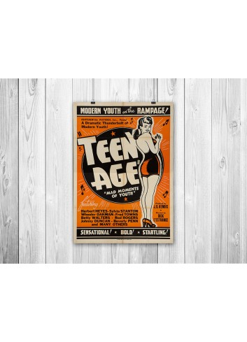 Teen Age 01 Poster 35X50