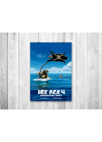 Ice Age 4 01 Poster 35X50