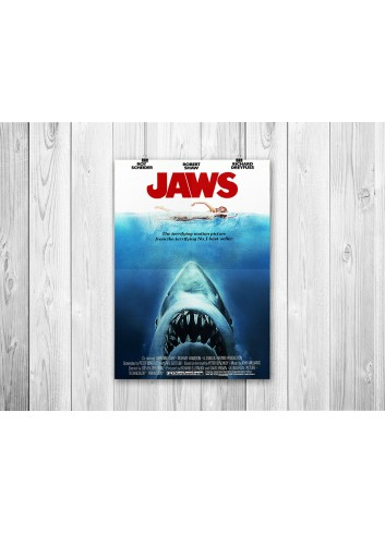 Jaws 01 Poster 35X50