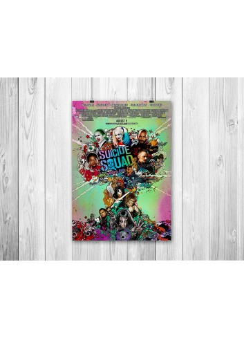 Suicide Squad 01 Poster 35X50