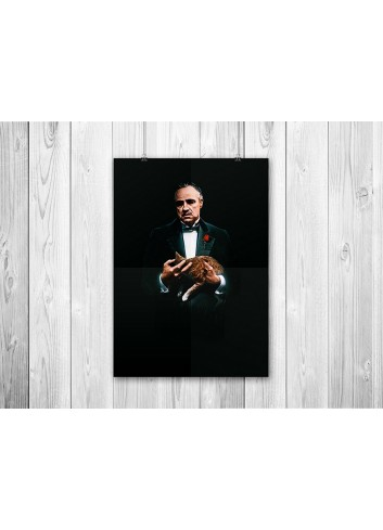 The Godfather 01 Poster 35X50
