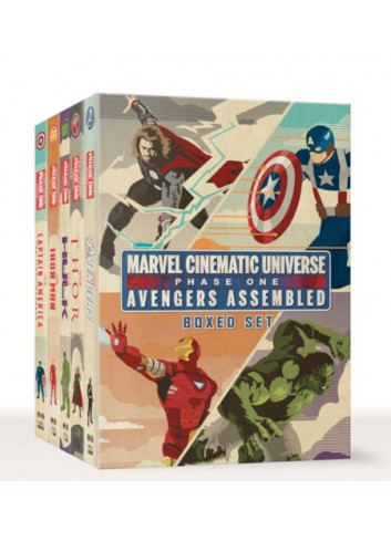 Marvel Cinematic Universe: Phase One Book Boxed Set: Avengers Assembled (İngilizce Kitap)