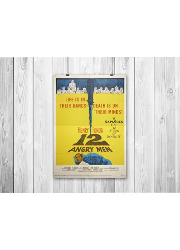 12 Angry Man 01 Poster 35X50