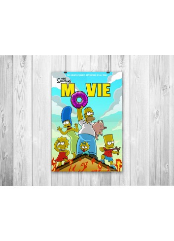 The Simpsons Movie 01 Poster 35X50