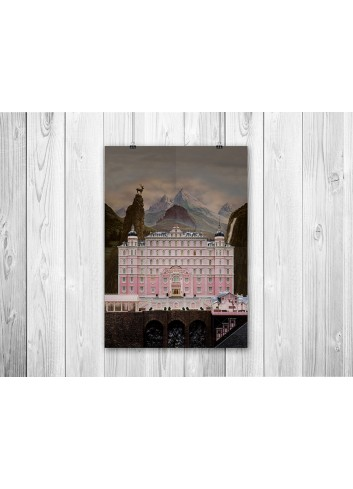 The Grand Budapest Hotel 01 Poster 35X50